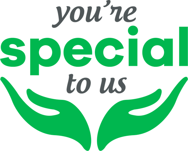 You're Special to Us
